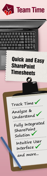 TeamTime - timesheets for SharePoint