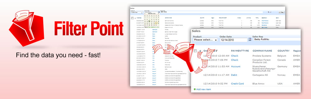 FilterPoint web part for SharePoint!